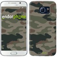 Чехол для Samsung Galaxy S6 G920 Камуфляж v3 1097c-80