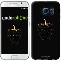 Чехол для Samsung Galaxy S6 G920 Черная клубника 3585c-80