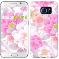 Чехол для Samsung Galaxy S6 G920 Цвет яблони 2225c-80