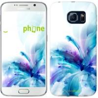 Чехол для Samsung Galaxy S6 G920 цветок 2265c-80