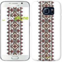 Чехол для Samsung Galaxy S6 G920 Вышиванка 22 590c-80