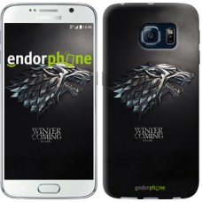 Чехол для Samsung Galaxy S6 G920 Game of thrones. Stark House 1120c-80