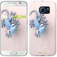 Чехол для Samsung Galaxy S6 G920 Гекончик 1094c-80