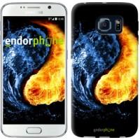 Чехол для Samsung Galaxy S6 G920 Инь-Янь 1670c-80
