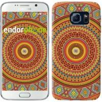 Чехол для Samsung Galaxy S6 G920 Индийский узор 2860c-80