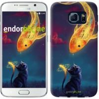 Чехол для Samsung Galaxy S6 G920 Кошкин сон 3017c-80