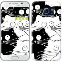 Чехол для Samsung Galaxy S6 G920 Коты v2 3565c-80