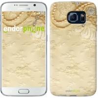Чехол для Samsung Galaxy S6 G920 Кружевной орнамент 2160c-80