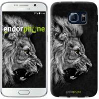 Чехол для Samsung Galaxy S6 G920 Лев 1080c-80