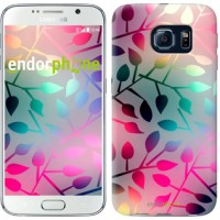Чехол для Samsung Galaxy S6 G920 Листья 2235c-80