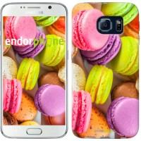 Чехол для Samsung Galaxy S6 G920 Макаруны 2995c-80