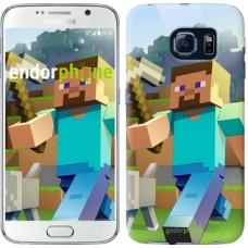 Чехол для Samsung Galaxy S6 G920 Minecraft 4 2944c-80