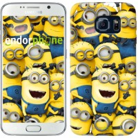 Чехол для Samsung Galaxy S6 G920 Миньоны 8 860c-80