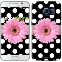 Чехол для Samsung Galaxy S6 G920 Горошек 2 2147c-80