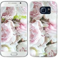 Чехол для Samsung Galaxy S6 G920 Пионы v2 2706c-80