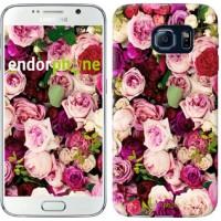 Чехол для Samsung Galaxy S6 G920 Розы и пионы 2875c-80