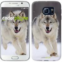 Чехол для Samsung Galaxy S6 G920 Бегущий волк 826c-80