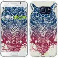 Чехол для Samsung Galaxy S6 G920 Сова 2 2726c-80