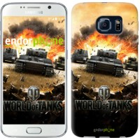 Чехол для Samsung Galaxy S6 G920 World of tanks v1 834c-80