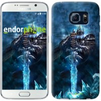 Чехол для Samsung Galaxy S6 G920 World of Warcraft. King 644c-80