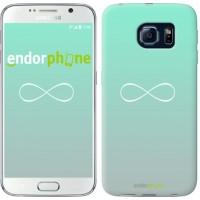 Чехол для Samsung Galaxy S6 G920 Знак бесконечности 3204c-80