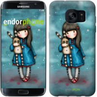 Чехол для Samsung Galaxy S7 Edge G935F Девочка с зайчиком 915c-257