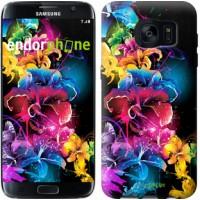 Чехол для Samsung Galaxy S7 Edge G935F Абстрактные цветы 511c-257