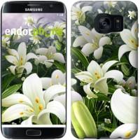 Чехол для Samsung Galaxy S7 Edge G935F Белые лилии 2686c-257