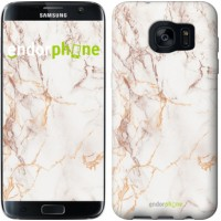 Чехол для Samsung Galaxy S7 Edge G935F Белый мрамор 3847c-257