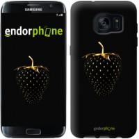 Чехол для Samsung Galaxy S7 Edge G935F Черная клубника 3585c-257
