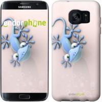 Чехол для Samsung Galaxy S7 Edge G935F Гекончик 1094c-257