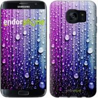 Чехол для Samsung Galaxy S7 Edge G935F Капли воды 3351c-257