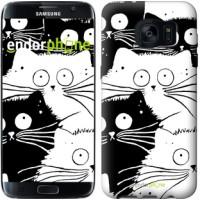Чехол для Samsung Galaxy S7 Edge G935F Коты v2 3565c-257
