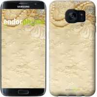Чехол для Samsung Galaxy S7 Edge G935F Кружевной орнамент 2160c-257