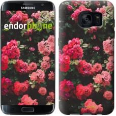Чехол для Samsung Galaxy S7 Edge G935F Куст с розами 2729c-257