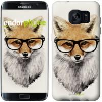 Чехол для Samsung Galaxy S7 Edge G935F Лис в очках 2707c-257