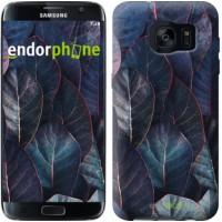 Чехол для Samsung Galaxy S7 Edge G935F Листья v3 3328c-257