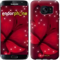 Чехол для Samsung Galaxy S7 Edge G935F Лунная бабочка 1663c-257