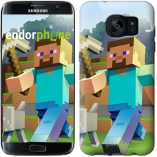 Чехол для Samsung Galaxy S7 Edge G935F Minecraft 4 2944c-257