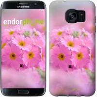 Чехол для Samsung Galaxy S7 Edge G935F Розовая примула 508c-257