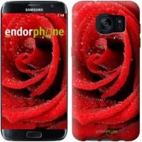 Чехол для Samsung Galaxy S7 Edge G935F Красная роза 529c-257