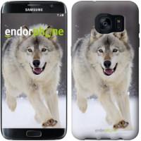 Чехол для Samsung Galaxy S7 Edge G935F Бегущий волк 826c-257