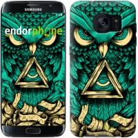 Чехол для Samsung Galaxy S7 Edge G935F Сова Арт-тату 3971c-257