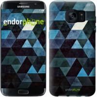 Чехол для Samsung Galaxy S7 Edge G935F Треугольники 2859c-257