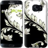 Чехол для Samsung Galaxy S7 Edge G935F White and black 1 2805c-257