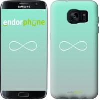Чехол для Samsung Galaxy S7 Edge G935F Знак бесконечности 3204c-257