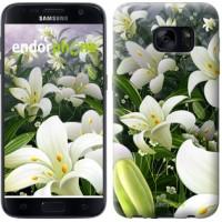 Чехол для Samsung Galaxy S7 G930F Белые лилии 2686m-106