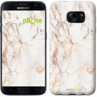 Чехол для Samsung Galaxy S7 G930F Белый мрамор 3847m-106
