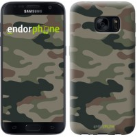 Чехол для Samsung Galaxy S7 G930F Камуфляж v3 1097m-106