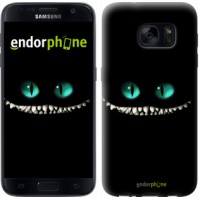 Чехол для Samsung Galaxy S7 G930F Чеширский кот 689m-106